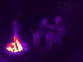 FLIR Scout TK ohniště termogram