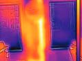 termogram, infračervený snímek, IR snímek, obrázek z termokamery, termovizní snímek