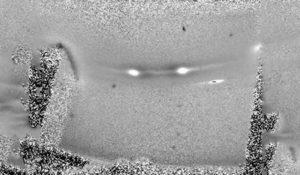 Detekce trhlin materálu