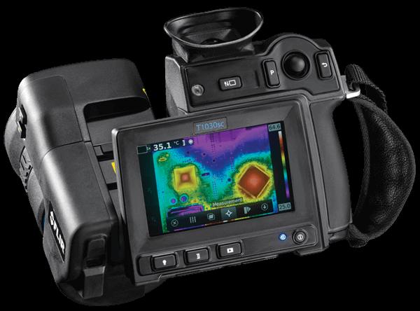 Termokamera, termovizni kamera FLIR s HD rozlišením. Model FLIR T1030sc