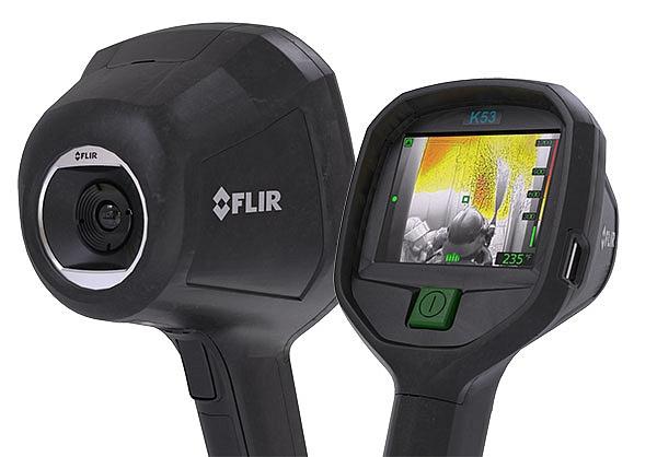 Termokamery FLIR K33 a K53, jako zástupci řady FLIR K