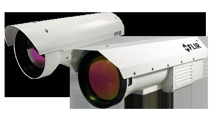 Termovizní kamery pro test range aplikace