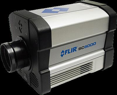 MWIR termovizní kamery FLIR SC6000 pro vědu a výzkum