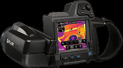 Termokamery FLIR T430sc a FLIR T450sc - termovizní kamery pro vědu a výzkum