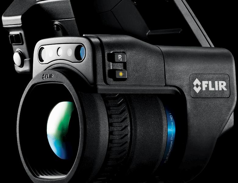 Termovizní kamera FLIR T1K, termovizní LWIR kamera s HD rozlišením