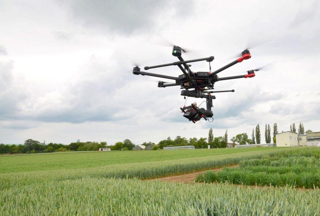 Jedna z nejoblíbenějších sestav dronu DJI M600 Pro a termokamery Workswell WIRIS 2nd gen